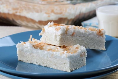 Coconut Lovers Cookie Bars