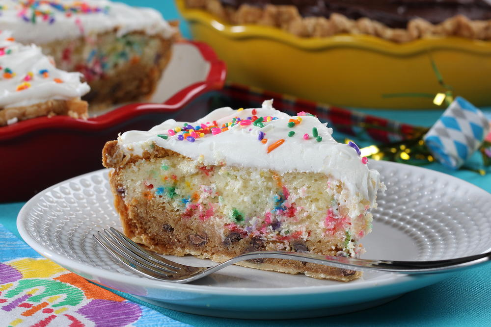Layered Cookie Cake Recipes: Cookie Cake Pie