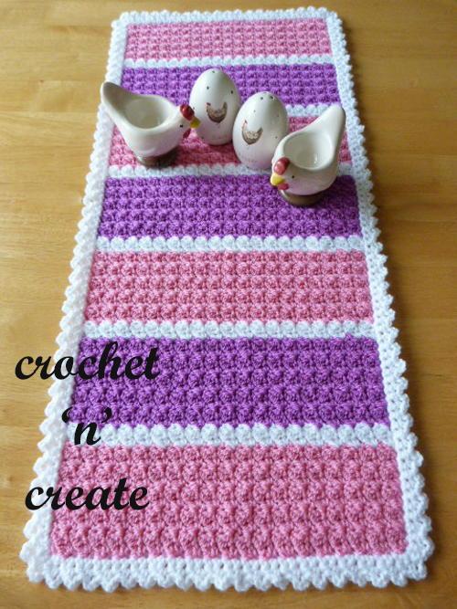Crochet Table Runner Allfreecrochetcom