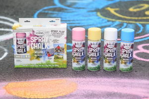 The Unbelievable Testors Spring Spray Chalk Giveaway