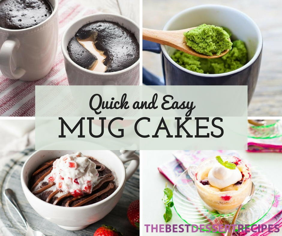 23 quick and easy mug cake recipes for Quick and easy cake recipes