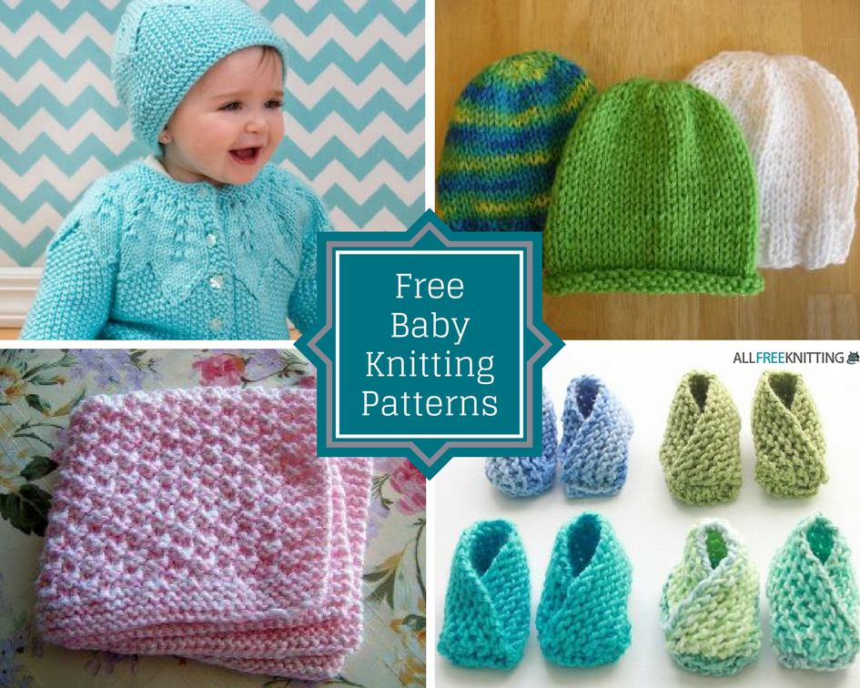 Baby Patterns To Knit Free : 75+ Free Baby Knitting Patterns AllFreeKnitting.com