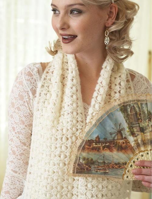 vintage lace shawl pattern