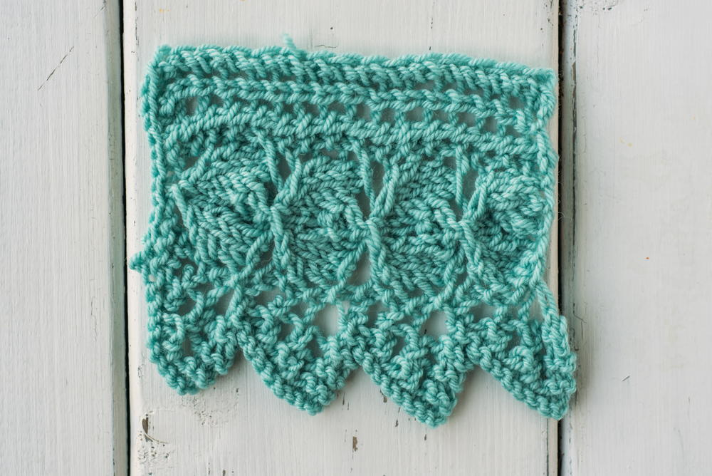 How To Knit The Garden Edging Stitch