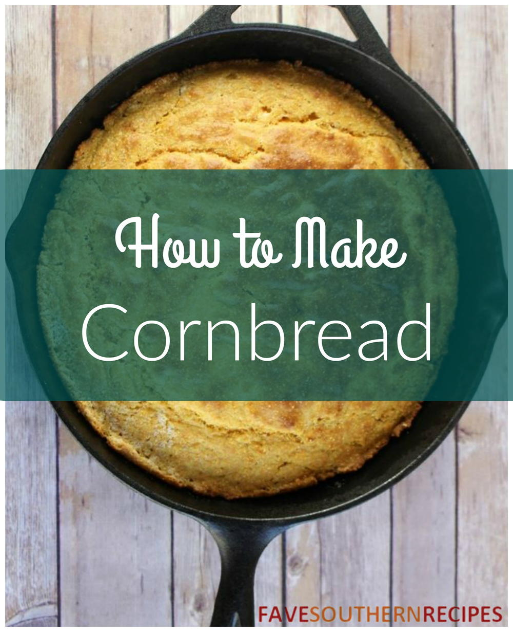 how to make flapjacks cornbread
