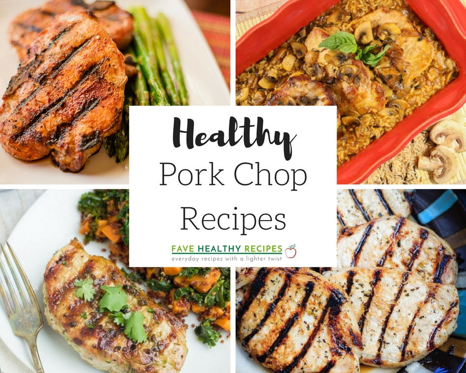 13 Healthy Pork Chop Recipes For Dinner Favehealthyrecipes Com