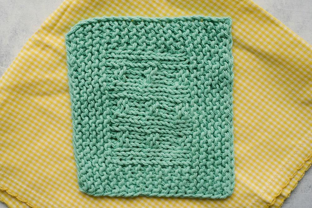 Easy Baby Blanket Knitting Stitch AllFreeKnitting.com
