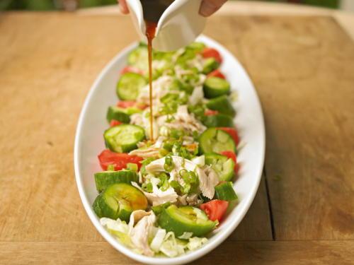 Shokos Summer Sesame Chicken Salad