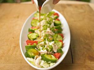 Shoko's Summer Sesame Chicken Salad