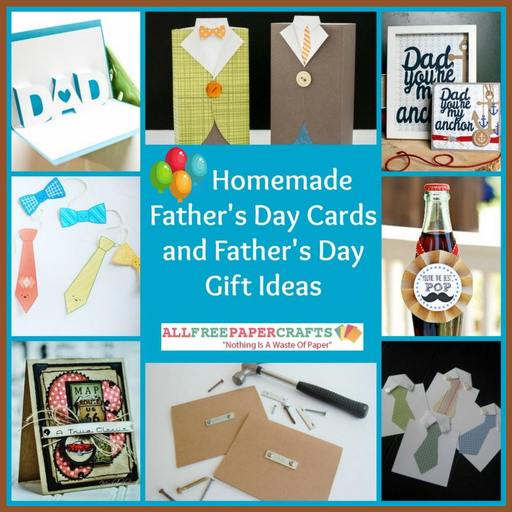 Fathers Day Homemade Fathers Day Card Ideas
