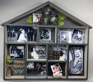 Wedding Photos Home Decor Display