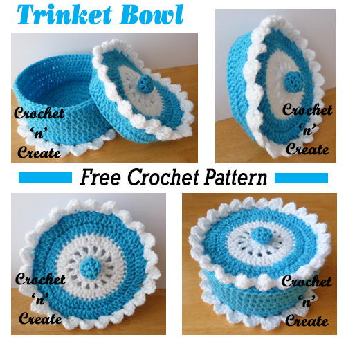 Colorblock Crochet Baskets | AllFreeCrochet.com