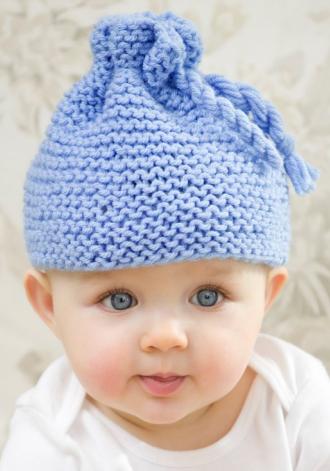Garter Stitch Baby Hat  7e2497f2cde