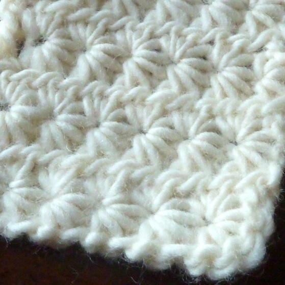 How To Crochet Star Stitch Tutorial