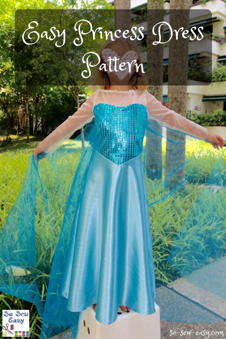 Easy Princess Dress Pattern Favecrafts Com