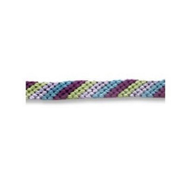 Diagonal Stripe Friendship Bracelet Pattern