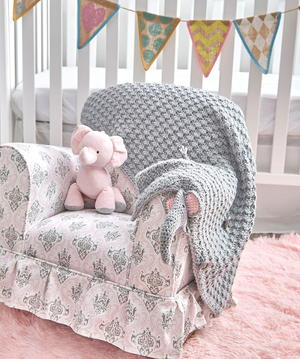 The Most Adorable Elephant Crochet Baby Blanket