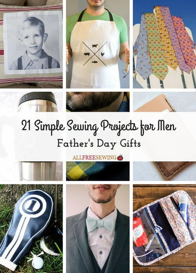 sewing projects for men Free sewing patterns for men -- a great collections of just best patterns around the men in your life will love you for it.