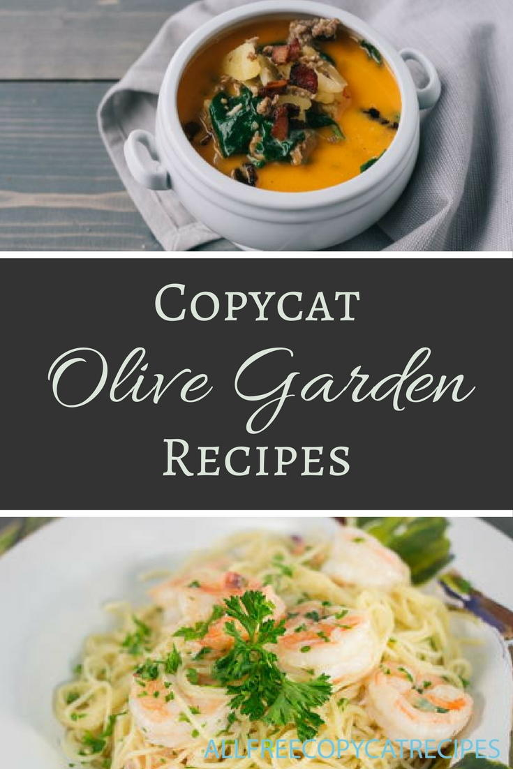30 Olive Garden Copycat Recipes
