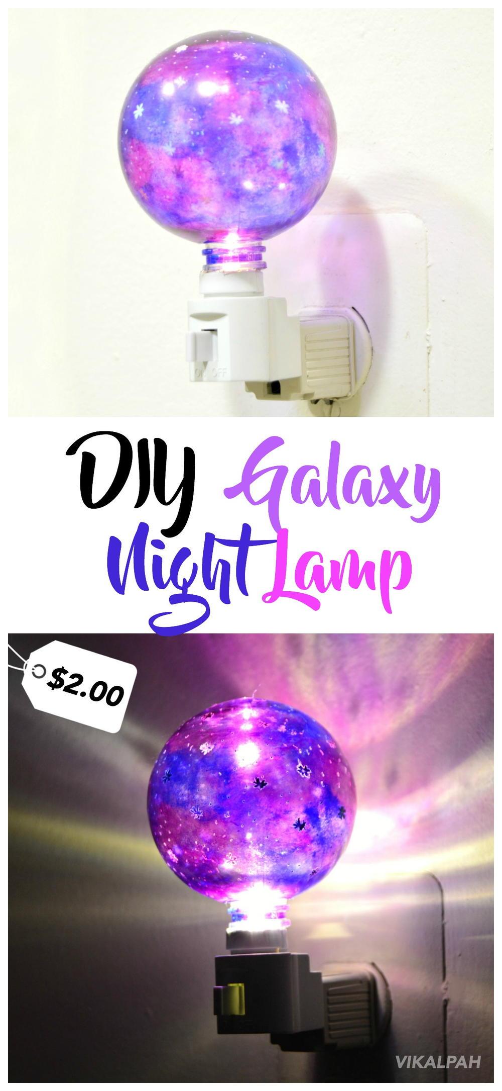 DIY Galaxy Night Lamp