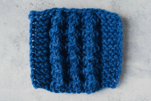 Twist and Twirl Scarf AllFreeKnitting.com