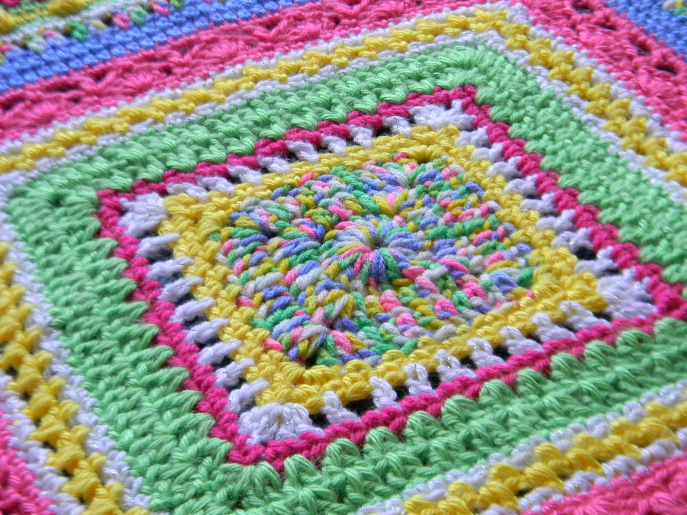 Fairy Tales Baby Blanket | AllFreeCrochetAfghanPatterns.com