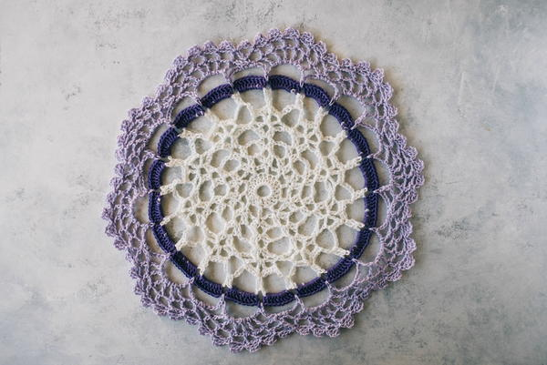 Cute and Easy Crochet Doily
