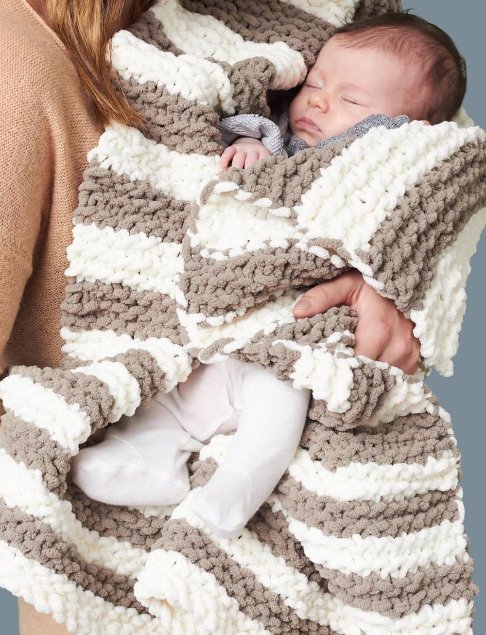 In A Wink Baby Blanket Allfreeknitting Com