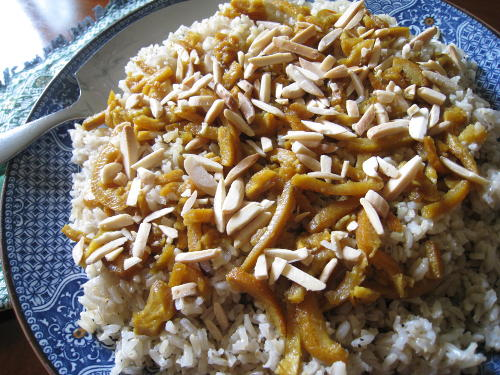Persian Orange Peel Rice