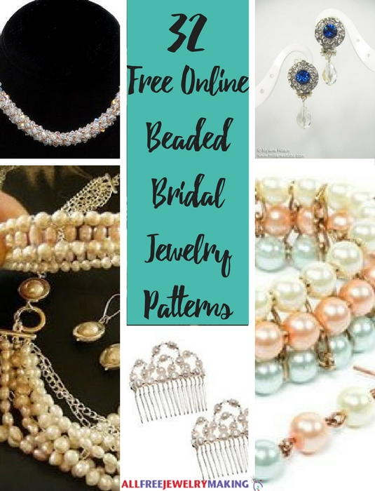 32 Free Online Beaded Bridal Jewelry Patterns