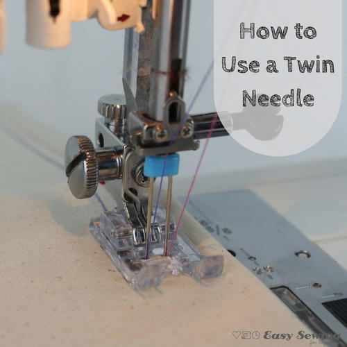 how to use a needle on a sewing machine