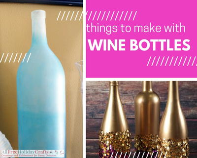 17 things to make with wine bottles for Things made from wine bottles
