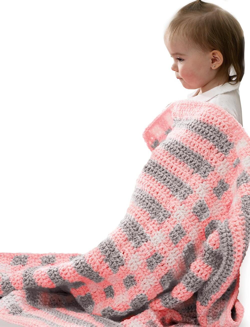 Quick And Easy Crochet Baby Blanket Allfreecrochetafghanpatterns Com