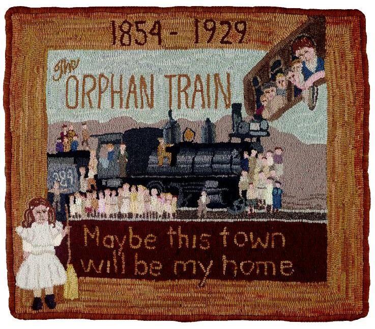 The Orphan Train Rug
