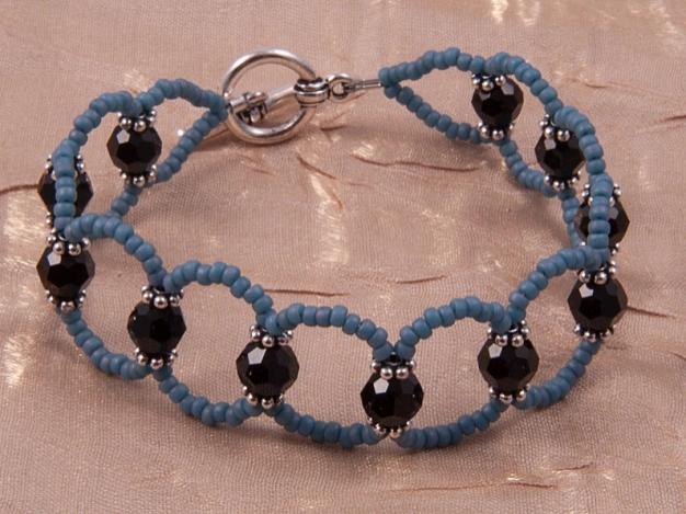 Beaded Diy Lattice Bracelet Allfreejewelrymaking Com