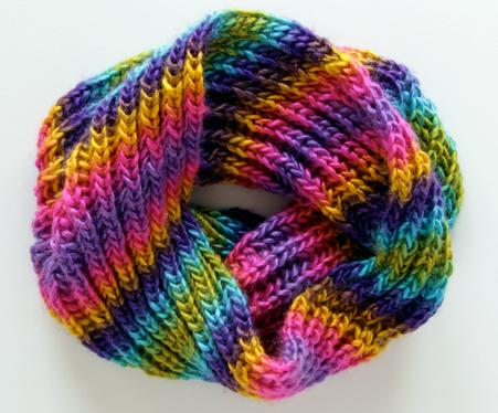 Brioche Knitting Tutorial and Cowl Pattern | AllFreeKnitting com