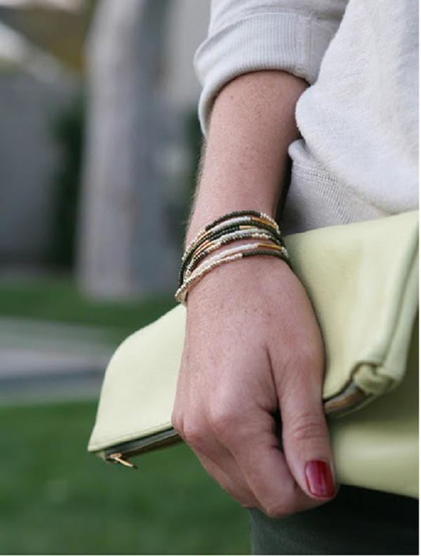 Large Stackable Bracelets