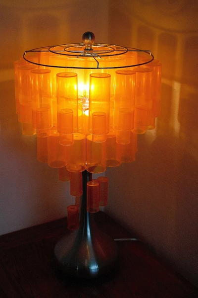 Stunningly Beautiful Pill Bottle Lamp