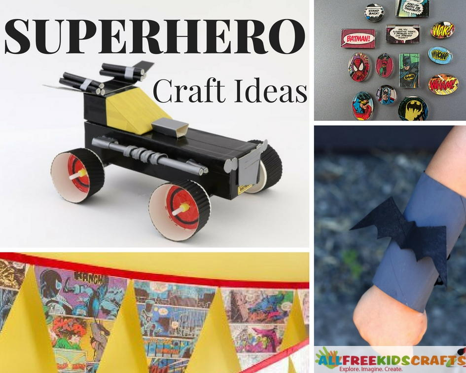 30 Superhero Craft Ideas For Kids Allfreekidscrafts Com