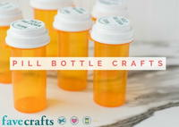 Pill Bottle Crafts: Reuse Pill Bottles [15 Ideas]
