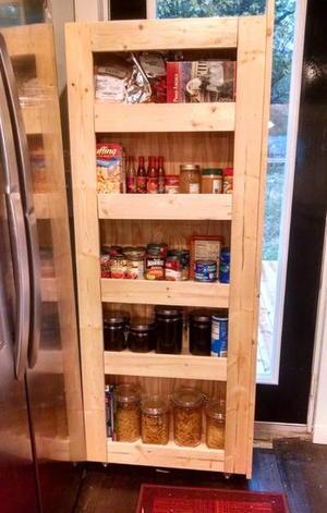 Secret Storage Diy Cabinet
