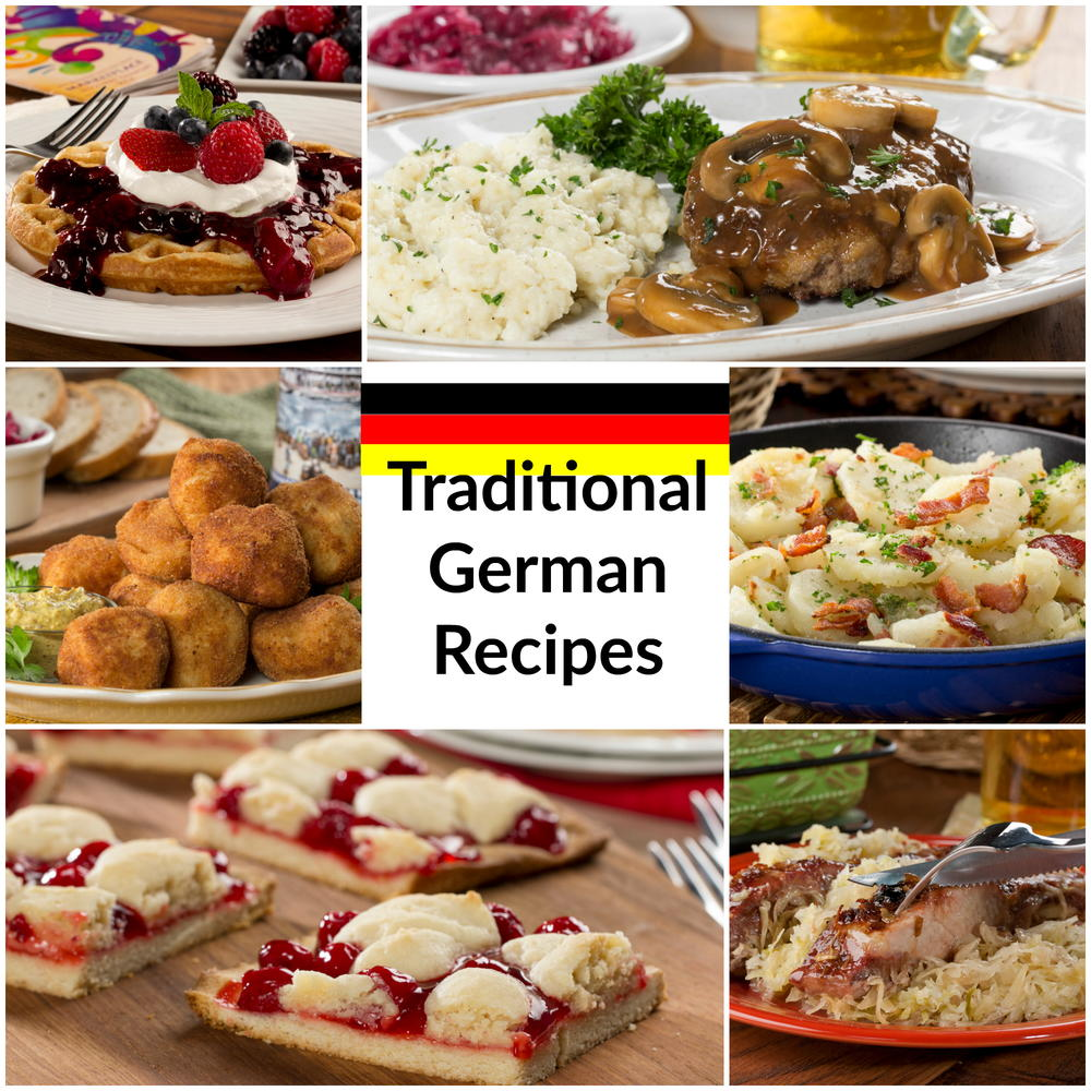 German recipes for Authentic german cuisine