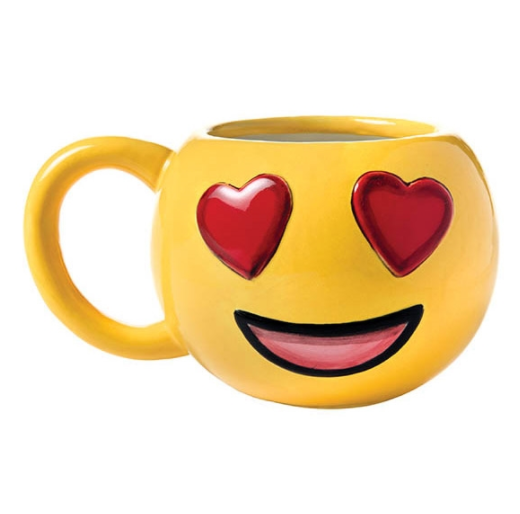 Heart Eyes Emoji Mug Allfreekidscrafts Com