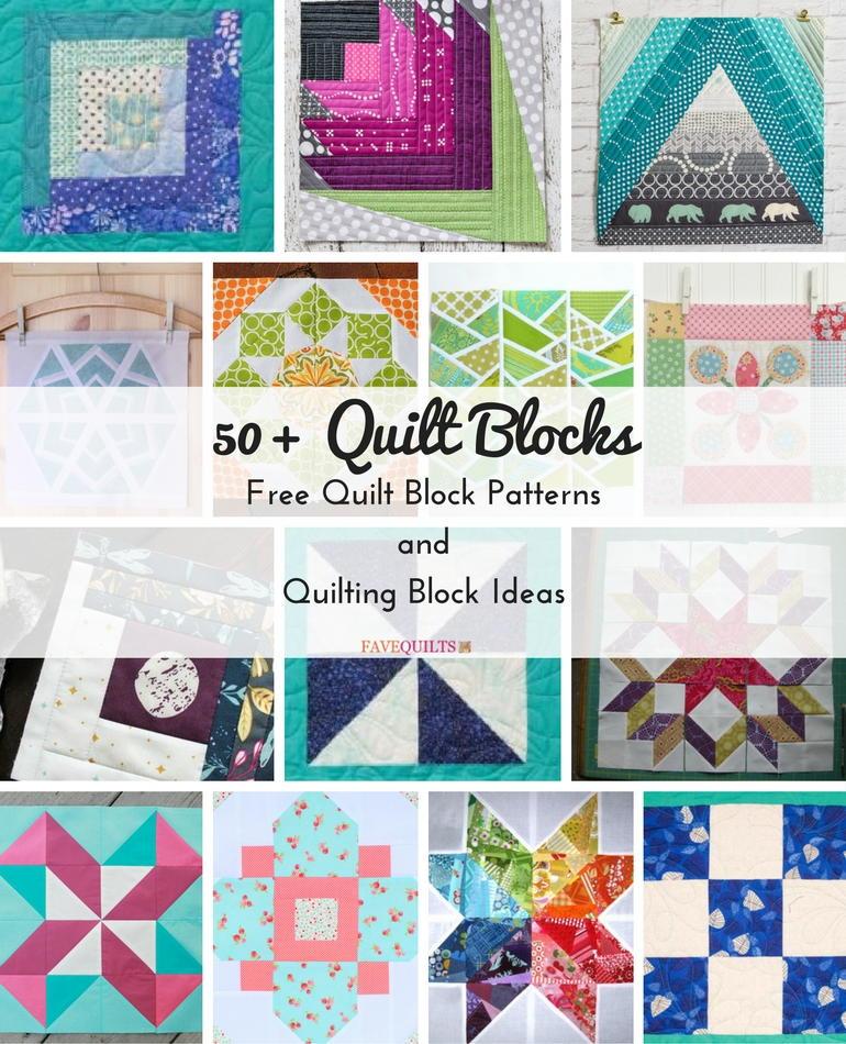 Quilt Blocks: Free Quilt Block Patterns and Quilting Block Ideas