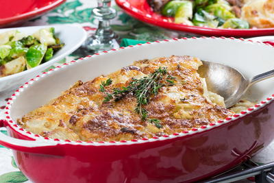 Herbed Au Gratin Potatoes