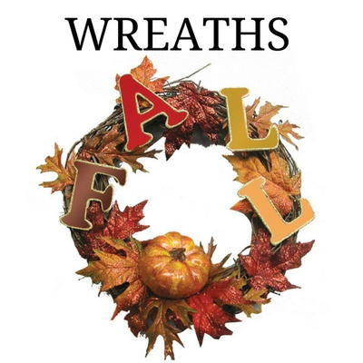 19 Decorative Front Door Wreaths for Fall