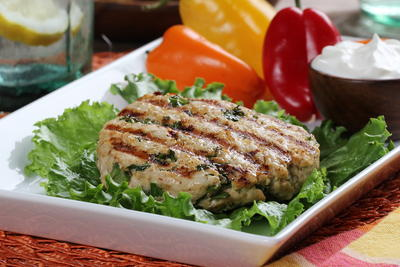 Quinoa Turkey Burgers
