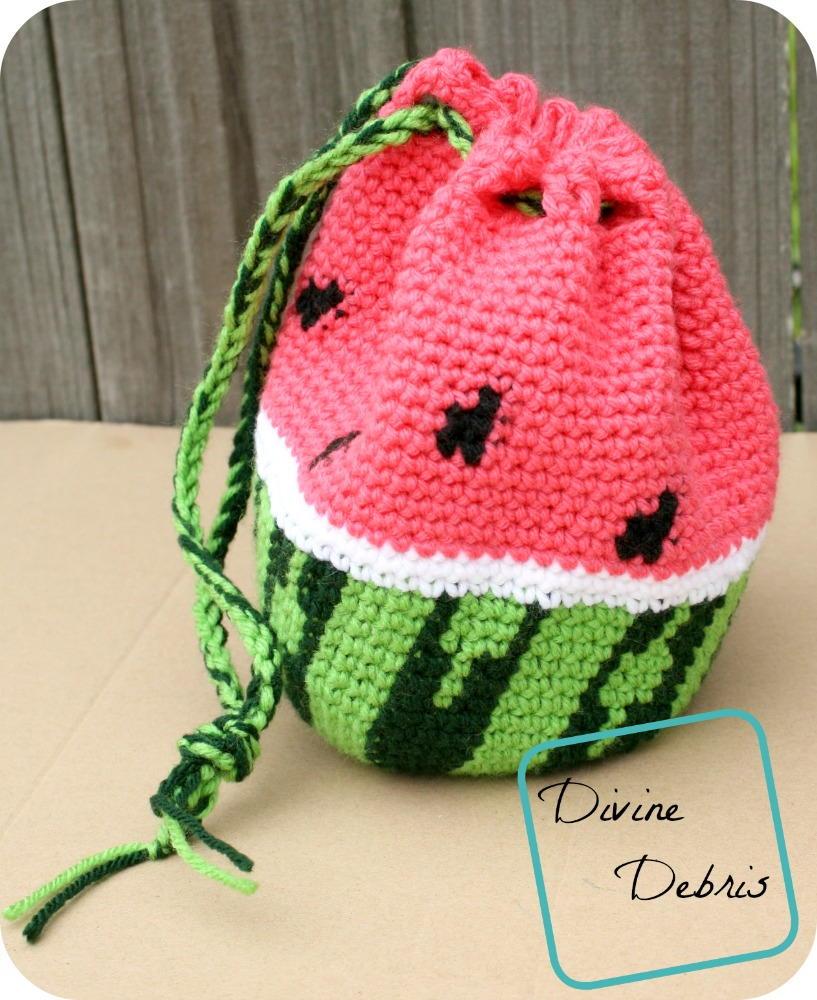 Ravelry: Watermelon Slice pattern by Dena Ziegler | 1000x817