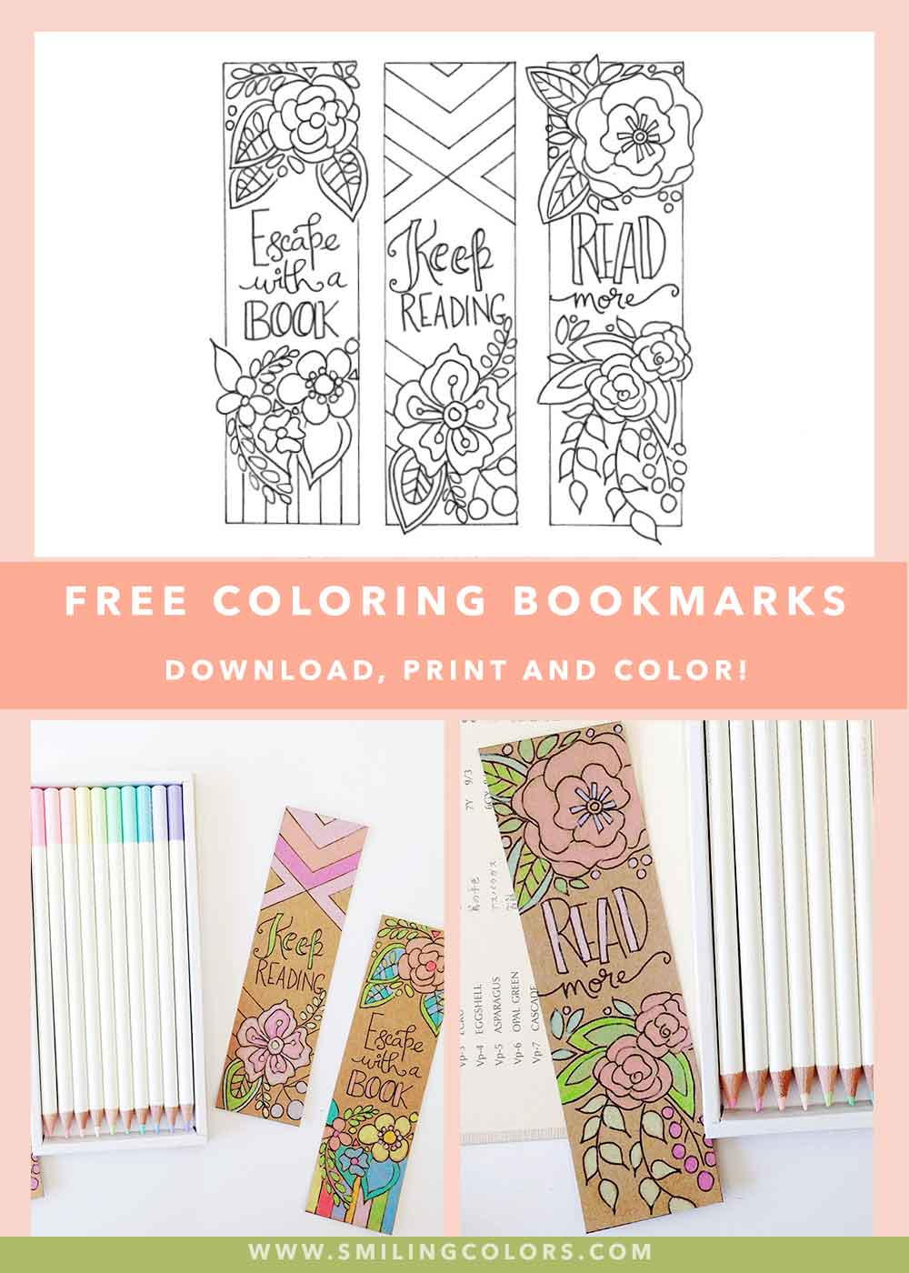 Bookmarks To Color Favecrafts Com