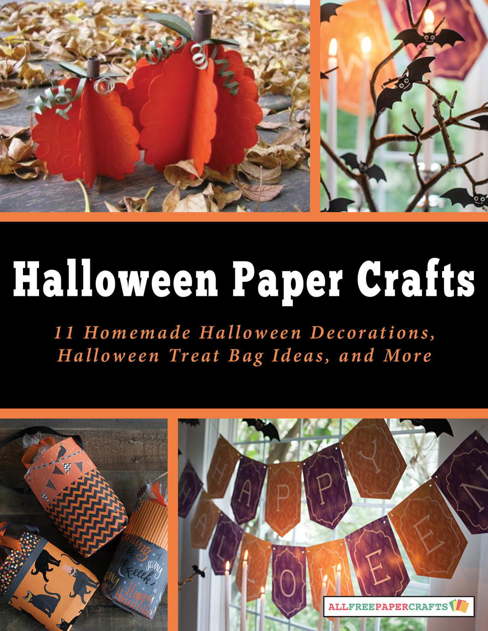 Halloween Paper Crafts 11 Homemade Halloween Decorations